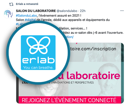 Erlab parle de nous Salon du Laboratoire